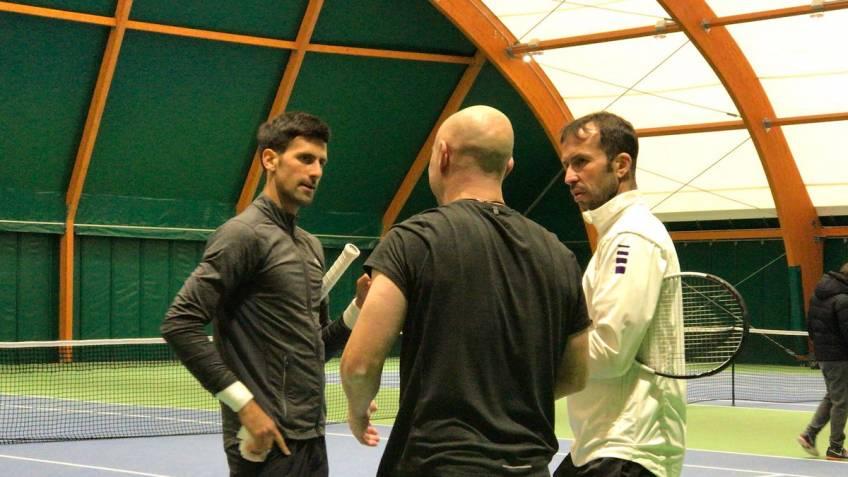 Stepanek joins Agassi to coach Djokovic